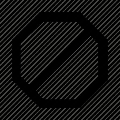 cancel, forbidden, no, not, stop icon
