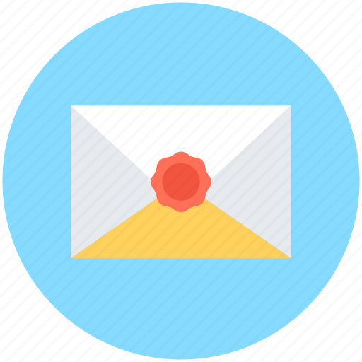 email, envelope, letter, mail, sealed envelope icon