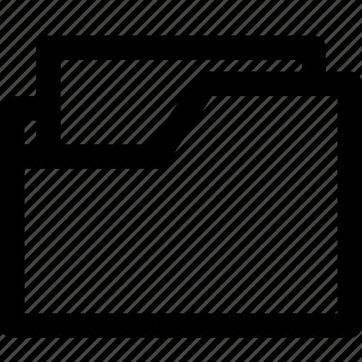 document, file, files, folder, paper icon