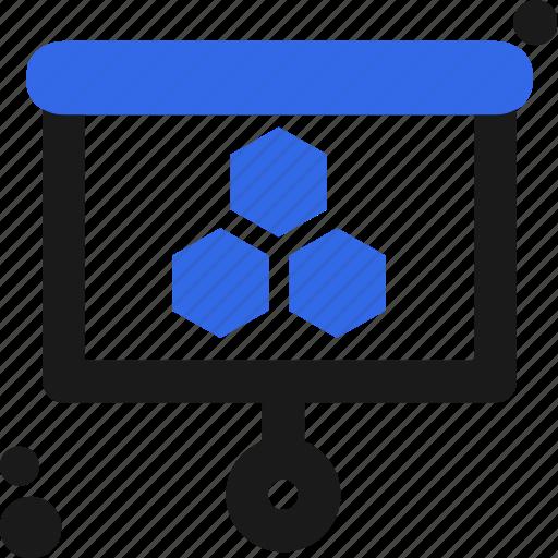 board, presentation, study, work icon
