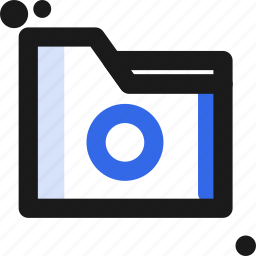 circle, file, folder, organize, save icon