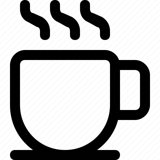 coffee, cup, drink, fresh, hot, office icon