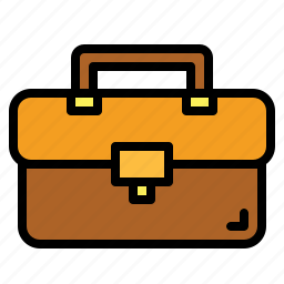 bag, briefcase, business, suitcase icon