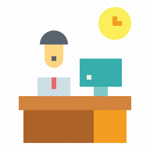 business, employees, office, workers icon