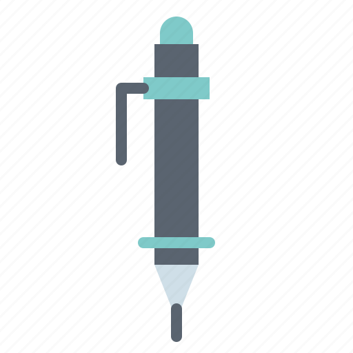material, office, pen, school, writing icon