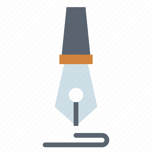 nib, pen, writer, writing icon