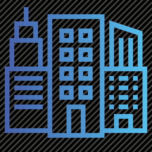 building, city, town, urban icon