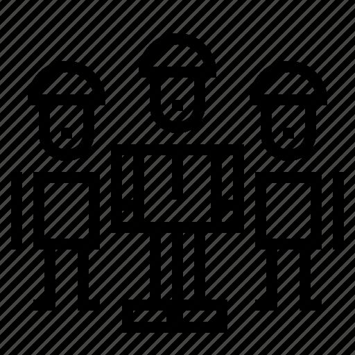 businessman, group, networking, teamwork icon