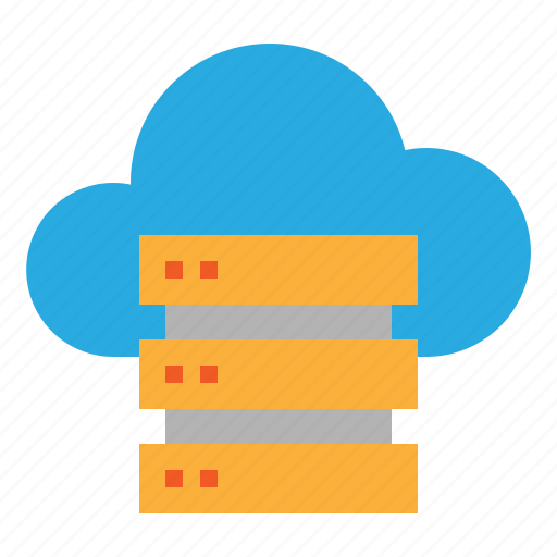 cloud, files, server, upload icon