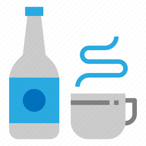 coffee, drink, hot, water icon