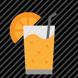 fruit, healthy, juice, orange, summer icon