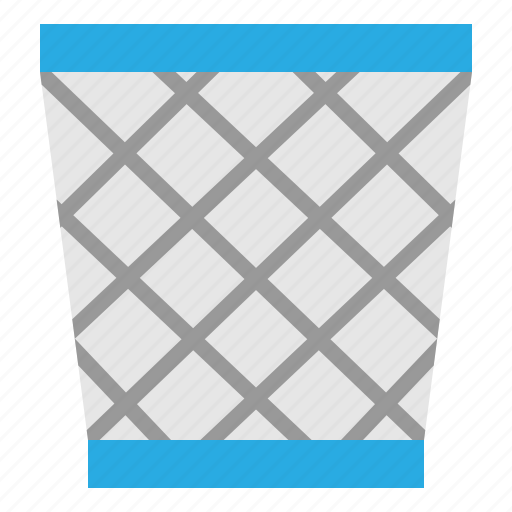 can, garbage, office, trash icon