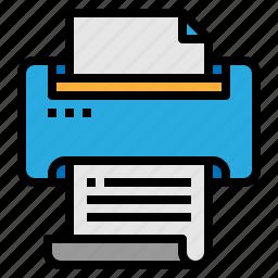 office, print, printer, printing icon