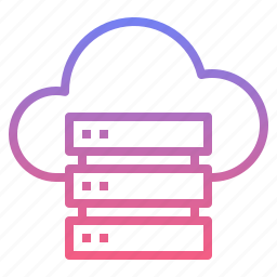 cloud, files, server, upload icon