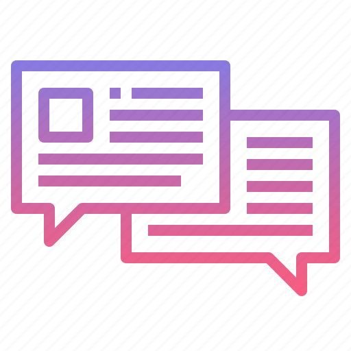chat, contact, dialog, message icon