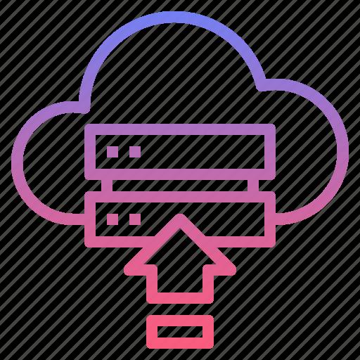 backup, cloud, drive, upload icon