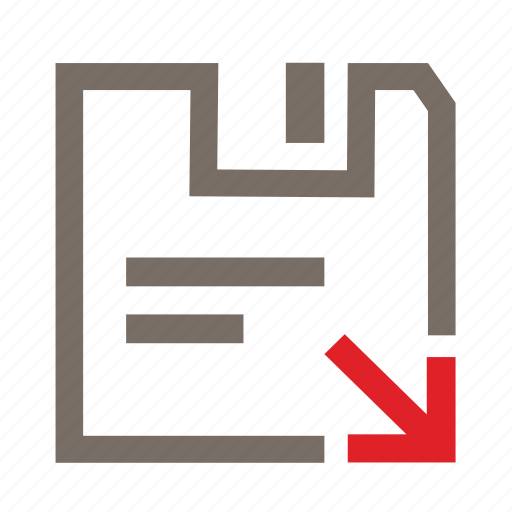 doc, download, file, filing, office, save, saving icon