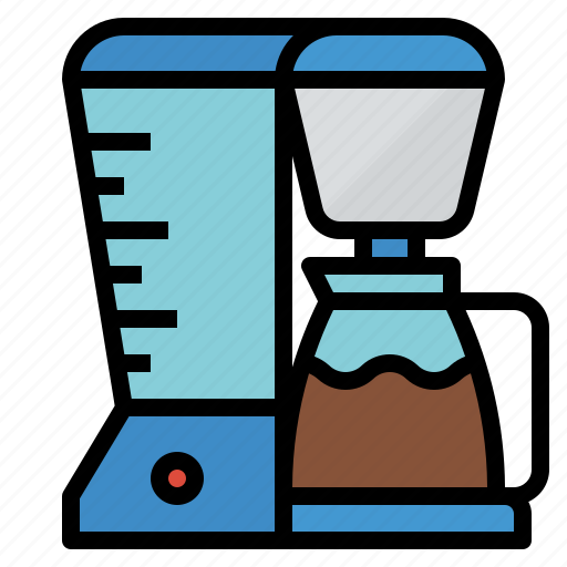 coffee, drink, hot, maker icon