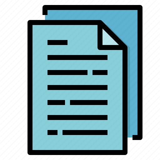 archive, document, file, paper icon