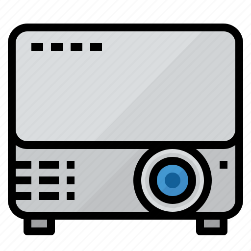 present, presentation, projector icon