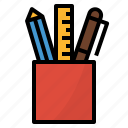 art, design, pen, pencil, stationery icon