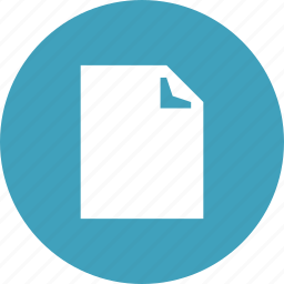 document, file, note, page, paper, sheet icon