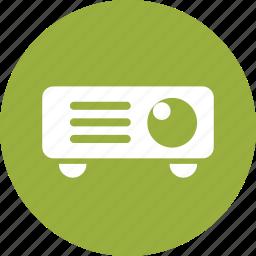 cinema, entertainment, film, movie, powerpoint, presentation, projector icon