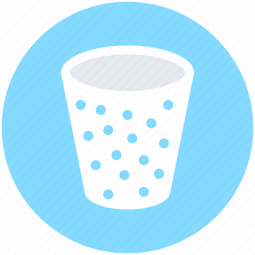 disposable cup, drink, glass, paper cup, paper glass icon