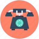 landline, retro phone, telecommunication, telephone, telephone set