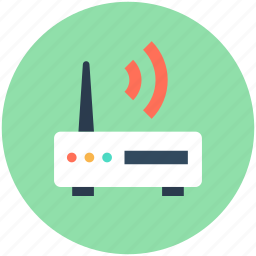 dsl, internet booster, internet device, internet modem, internet router icon