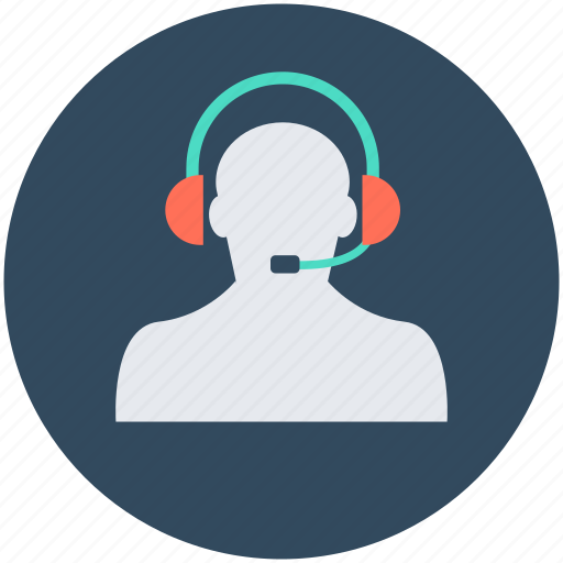 call center, customer service, customer support, helpline, telemarketer icon