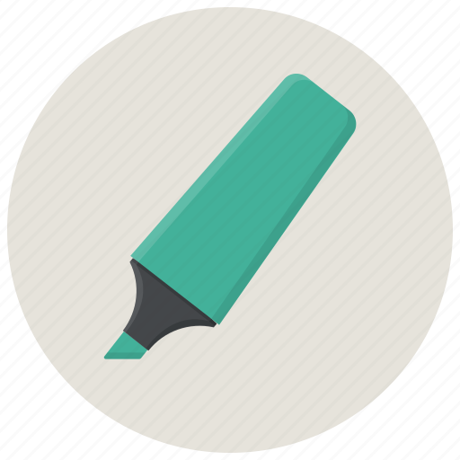 bold, high, highlighter, light, marker, pointer icon