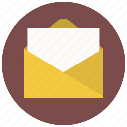 document, documents, email, file, mail, message, paper icon