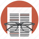 correction, document, file, page icon