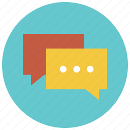 chat, chat bubble, chatting, comment, faq, message, talk icon
