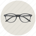 glass, glasses, hipster, ray ban icon