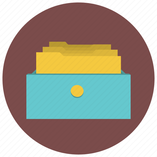archive, archives, boxes, cab, cabinet, data, database icon