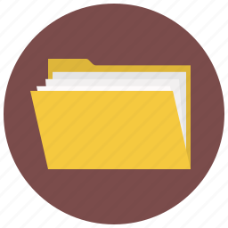 breafcase, brief, directory, document, file, folder, folio icon
