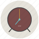 alarm, clock, morning, office, time icon