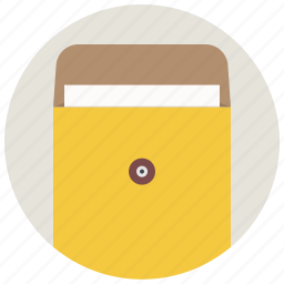 document, envelope, file, folder, mail, office, package icon