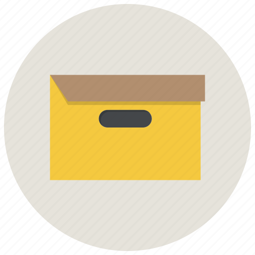 archieve, archive, box, file, folder, office, package icon