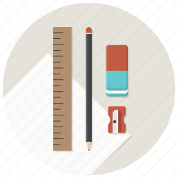 blueprints, build, develop, development, pen, sharpner icon