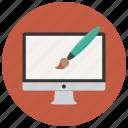 computer, design, graphic, graphics, paint, web icon