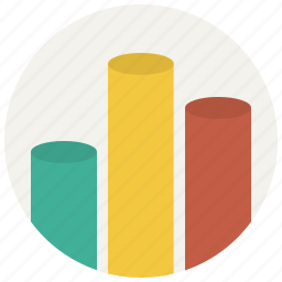 analytics, diagram, earnings, graph, sales, statistics icon