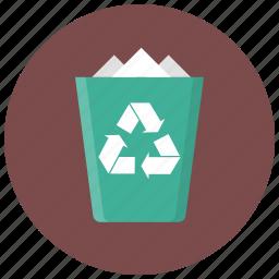 bin, cancel, delete, garbage, recycle, remove, trash icon