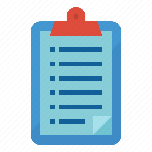 Clipboard, list, note, paper icon - Download on Iconfinder
