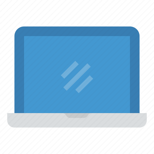 computer, laptop, monitor, screen, technology icon