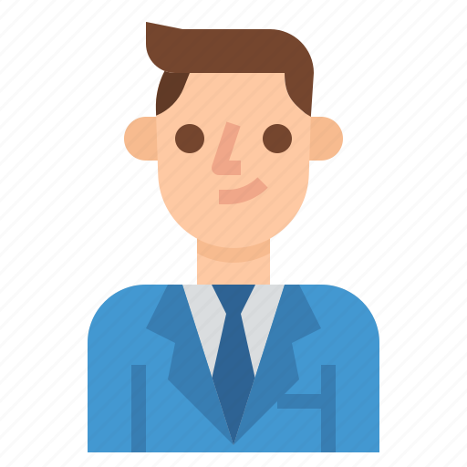 business, employee, manager, worker icon