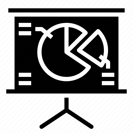 business, chart, graphic, presentation icon