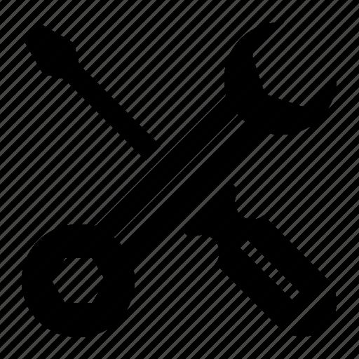 custom, repair, service, tool icon